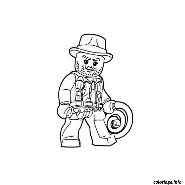 Coloriage lego indiana jones dessin - Coloriage indiana jones ...