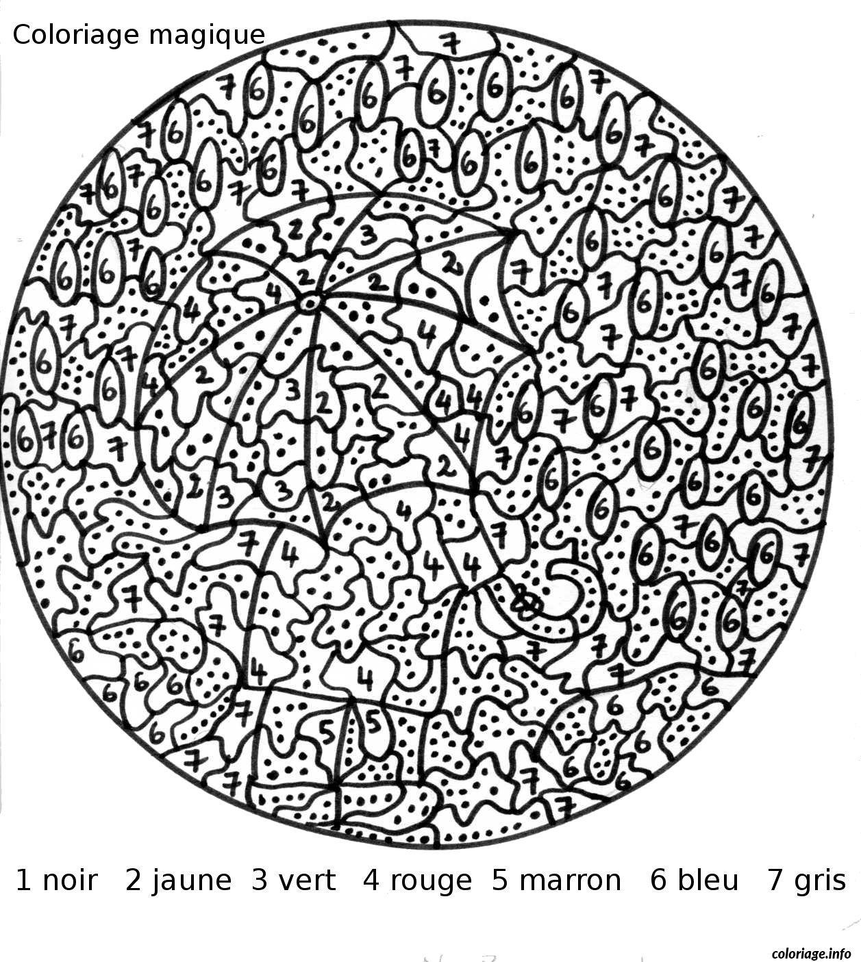 Coloriage Magique 113 dessin