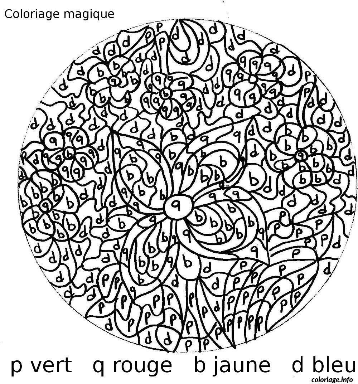 Coloriage magique 18 dessin - Coloriage magique difficile a imprimer ...