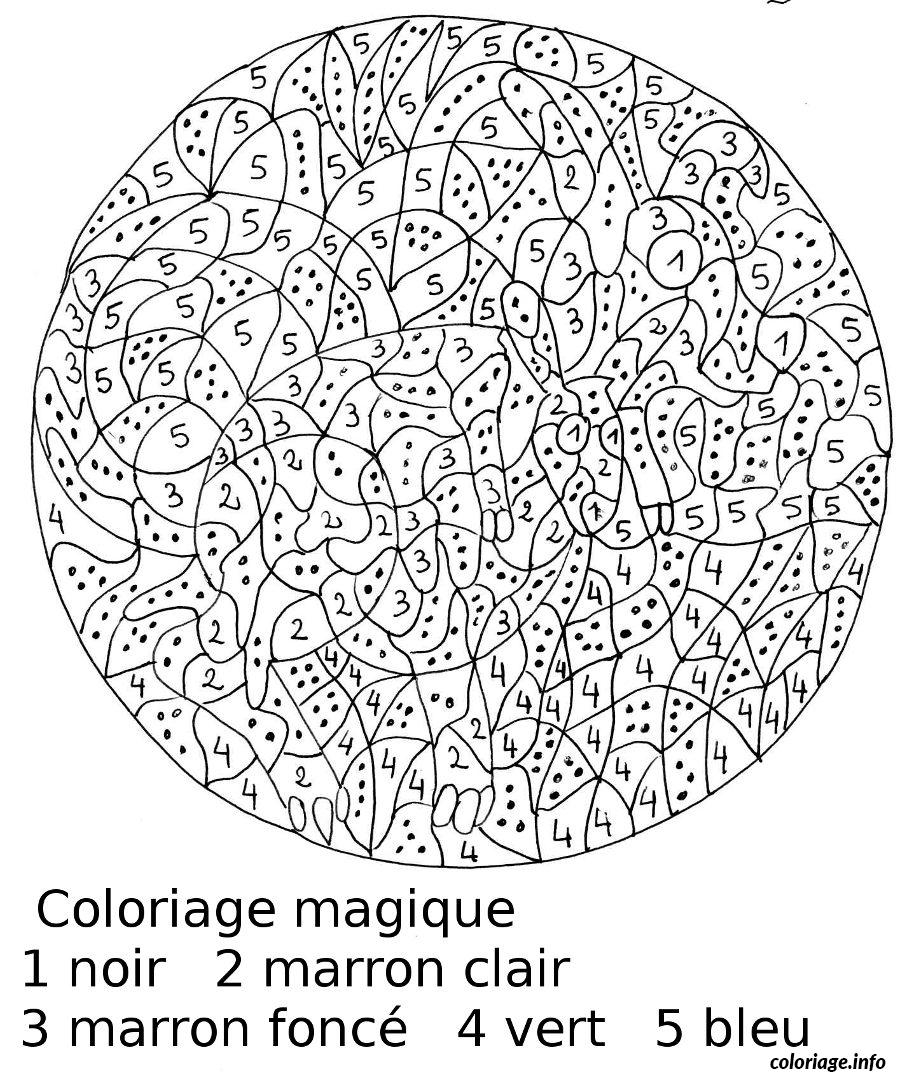 Coloriage Magique 31 Dessin