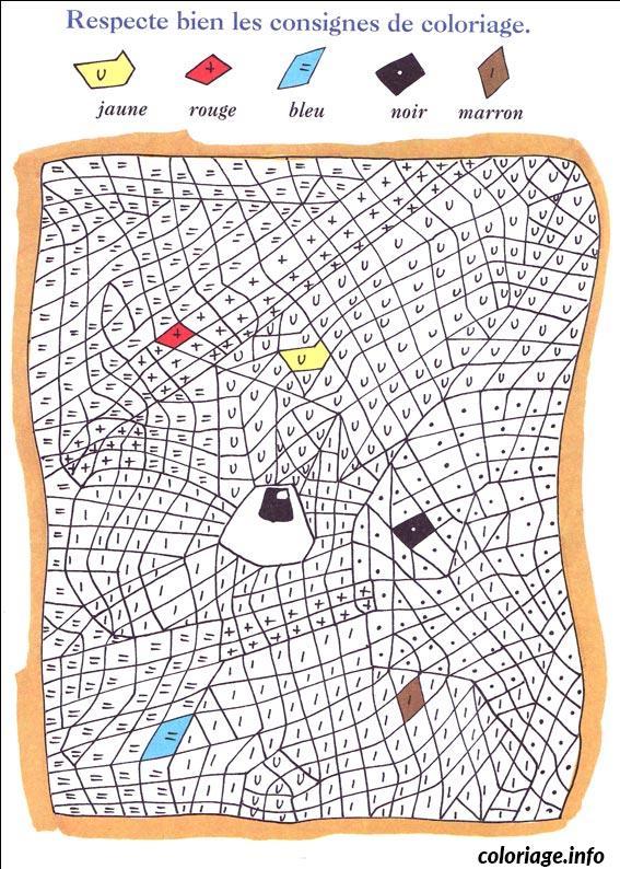 Coloriage magique 69 dessin - Magique gratuit ...