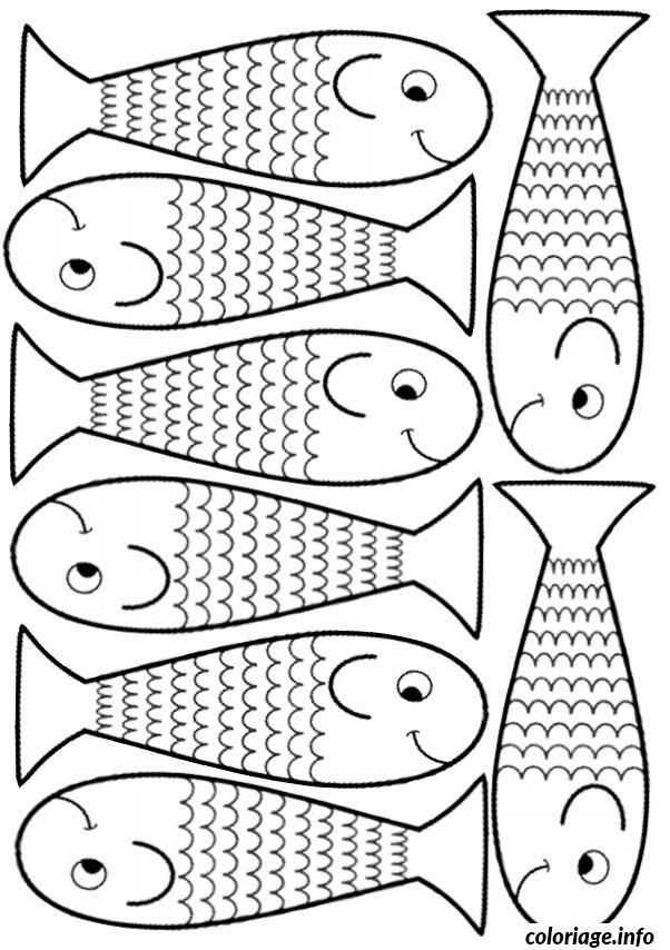 Coloriage poisson davril 30 - Dessin de poisson d avril ...