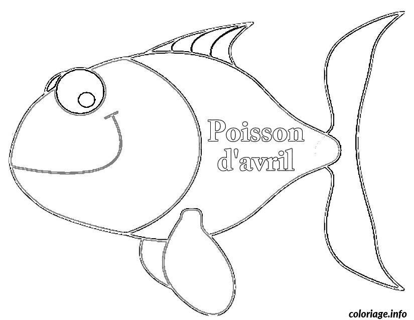 coloriage poisson davril 112 jecolorie com