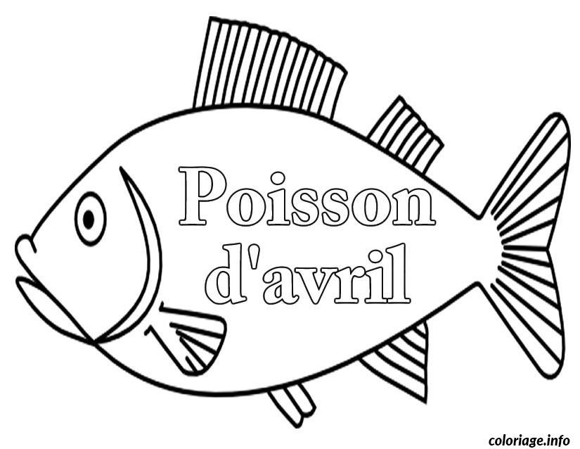 Coloriage poisson davril 117 dessin - Poisson a imprimer gratuitement ...