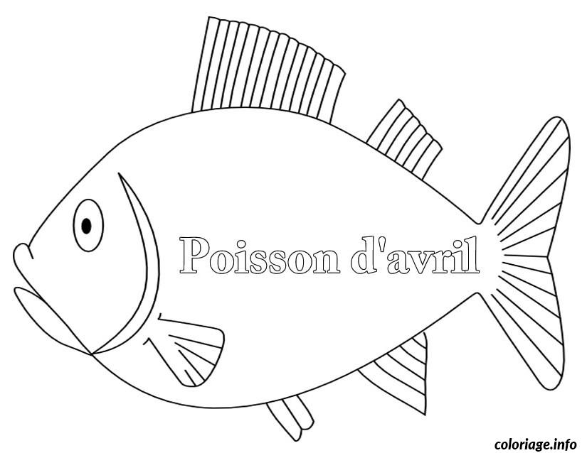 Coloriage poisson davril 144 dessin - Dessin de poisson d avril ...