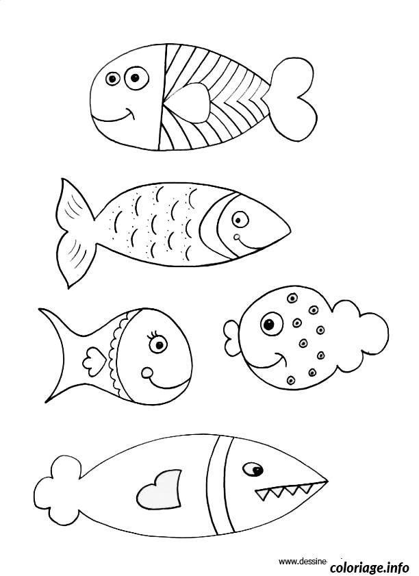 Coloriage poisson davril 75 dessin - Coloriage avril ...