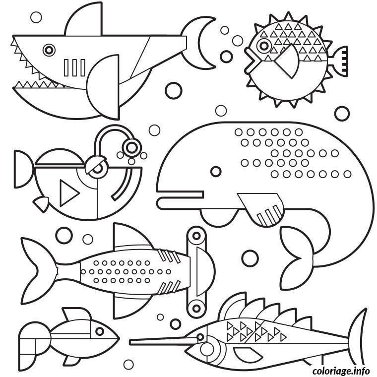 Coloriage poisson davril 84 dessin - Poisson d avril a imprimer coloriage ...