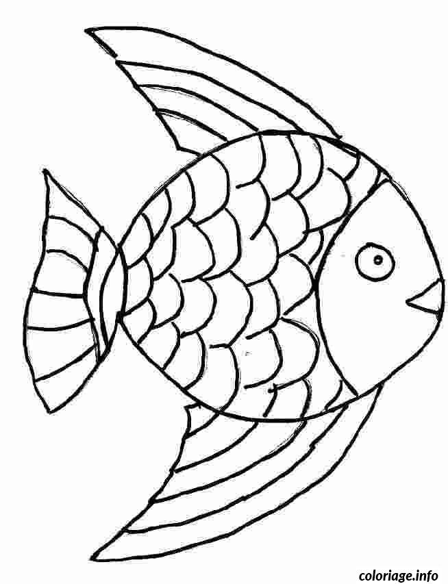Coloriage Poisson 4 dessin