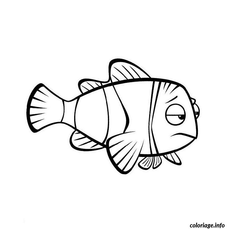 Coloriage poisson nemo dessin - Dessin poisson simple ...