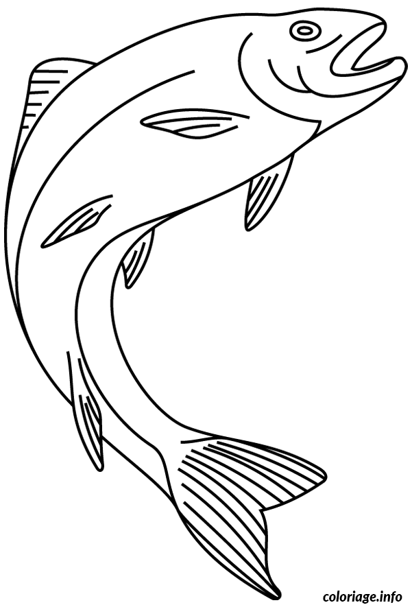 Coloriage poisson 274 dessin - Poisson dessin ...