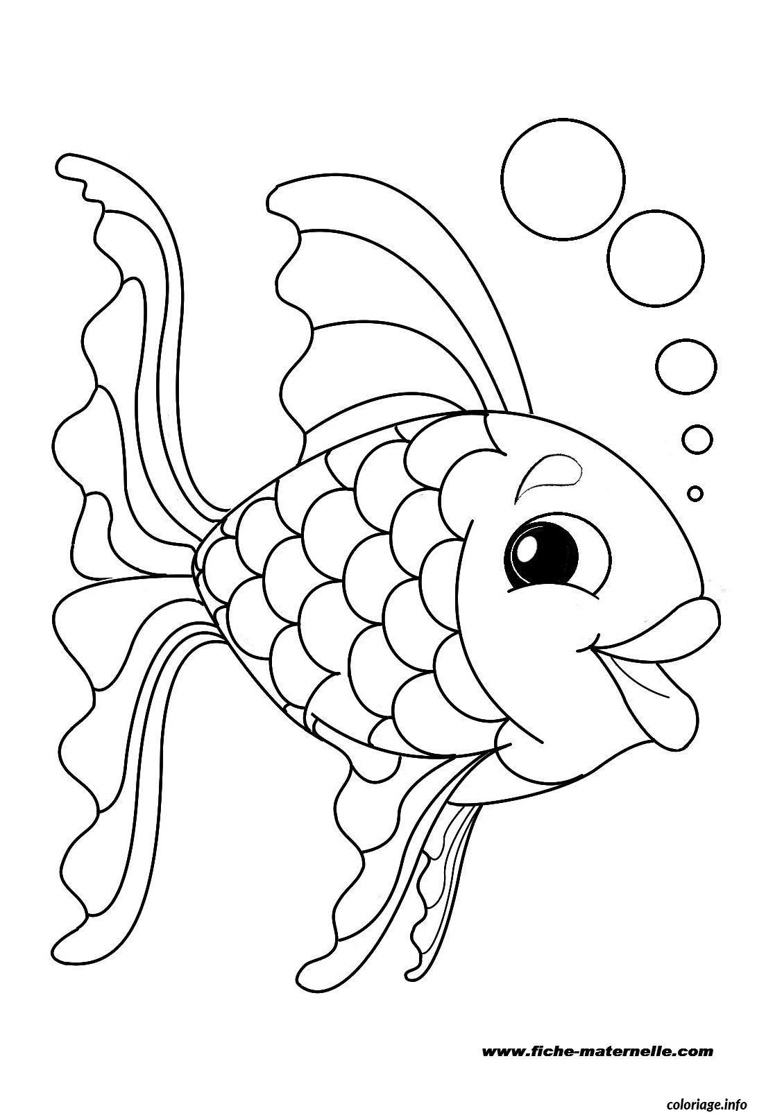 Coloriage poisson 56 dessin - Coloriages poissons ...