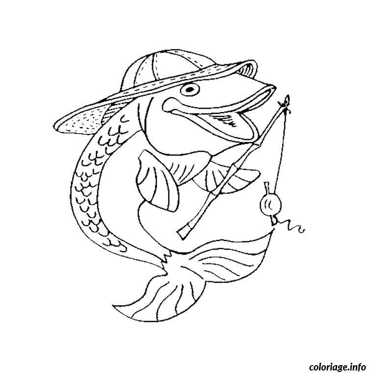 Coloriage poisson carpe - Dessin de poisson ...