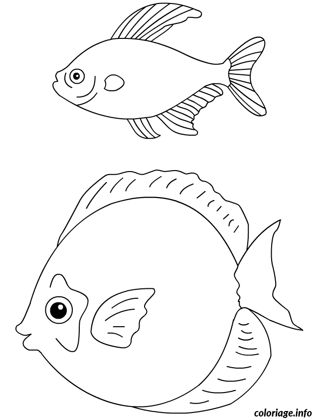 Coloriage poisson davril 121 dessin - Coloriage avril ...