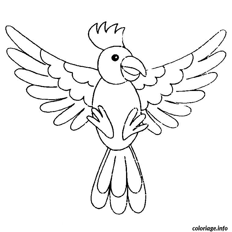 Coloriage un oiseau - JeColorie.com