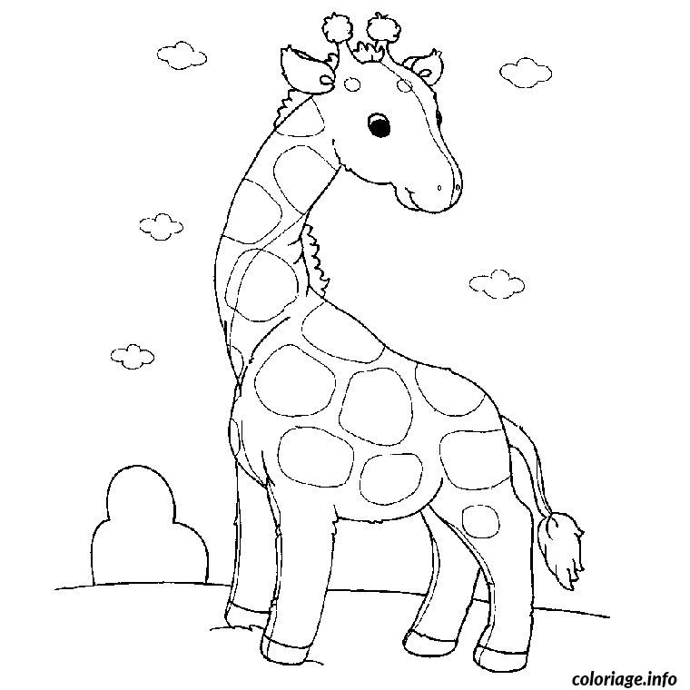 Coloriage pet shop girafe dessin - Dessin a colorier petshop ...