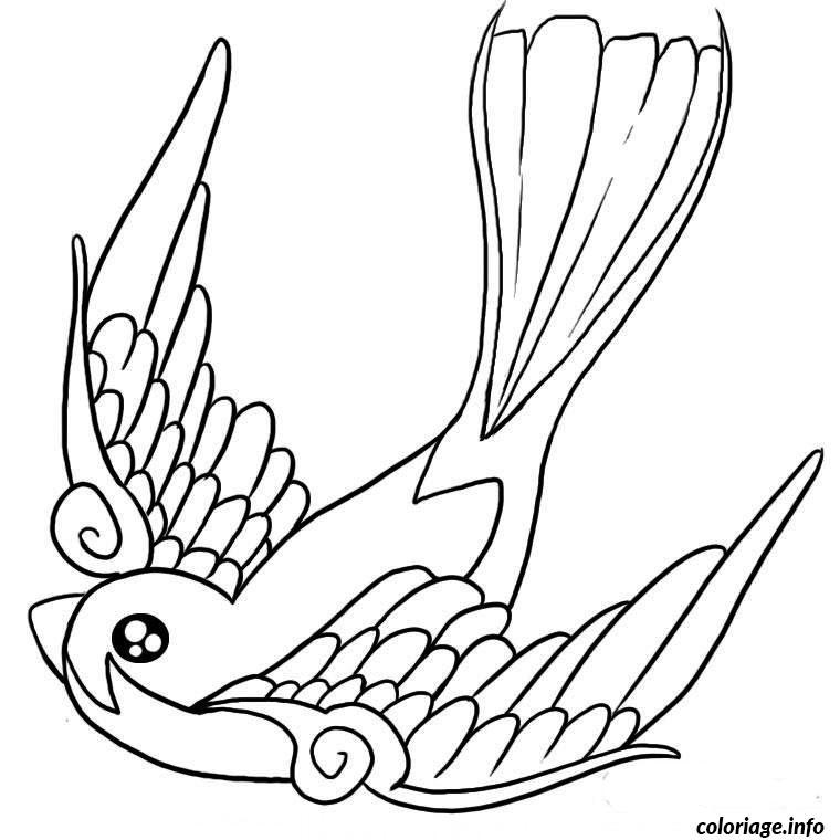 Coloriage oiseau de paradis dessin - Coloriage de oiseau ...