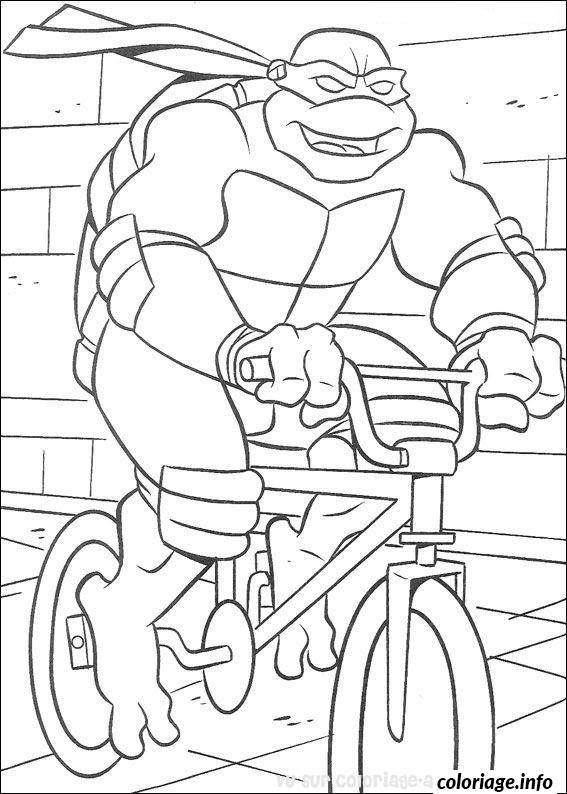 Dessin tortue ninja 29 Coloriage Gratuit à Imprimer