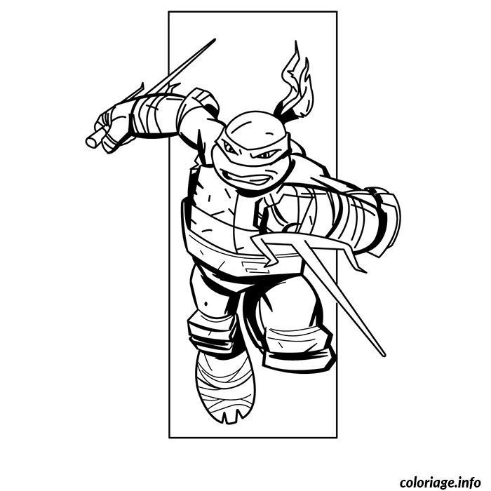 Dessin tortue ninja 17 Coloriage Gratuit à Imprimer
