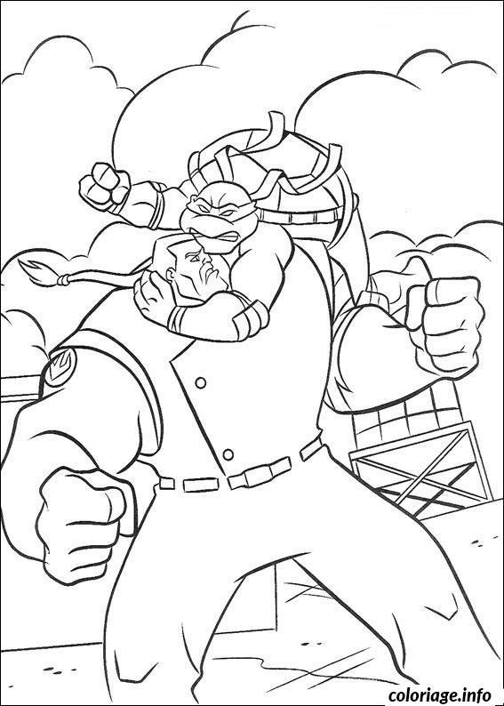 Coloriage tortue ninja 192 dessin - Dessin anime des tortues ninja ...