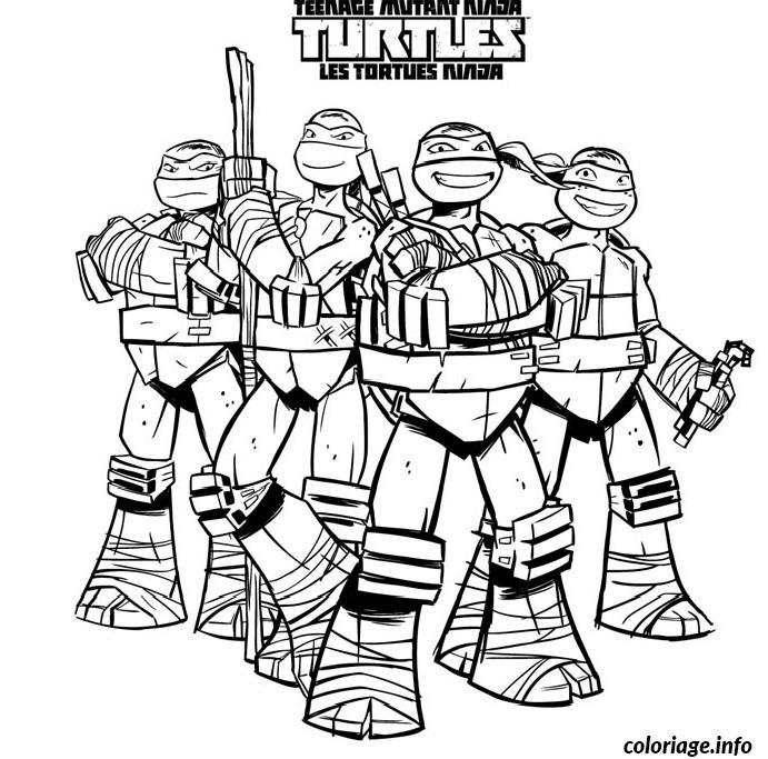 Coloriage tortue ninja 22 dessin - Coloriage tortue ninja ...