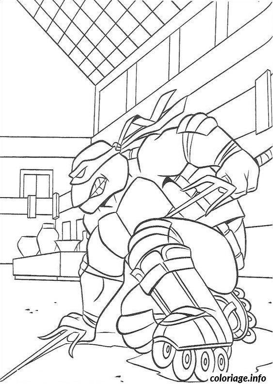 Dessin tortue ninja 65 Coloriage Gratuit à Imprimer