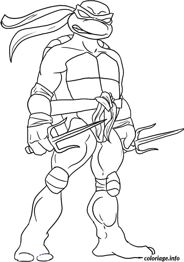 Coloriage tortue ninja 85 for Coloring pages of ninjas
