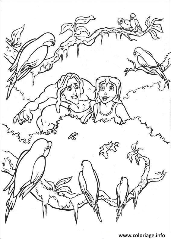 Coloriage Tarzan 144 Dessin