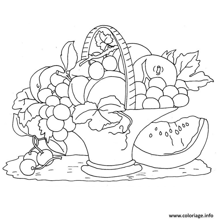 Coloriage fruits de l automne dessin - Fruits a colorier et a imprimer ...