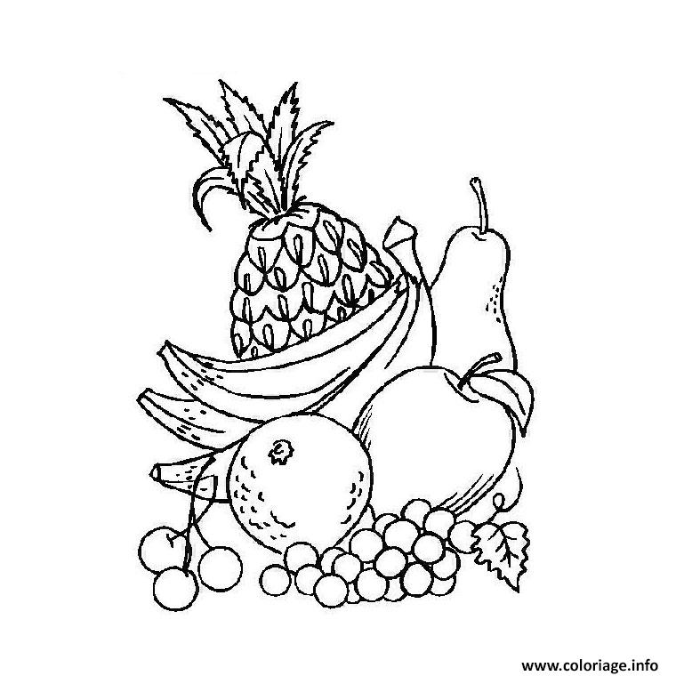Dessin fruit 16 Coloriage Gratuit à Imprimer
