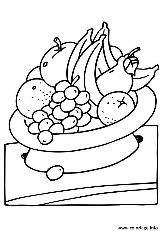 Dessin fruit 178 Coloriage Gratuit à Imprimer