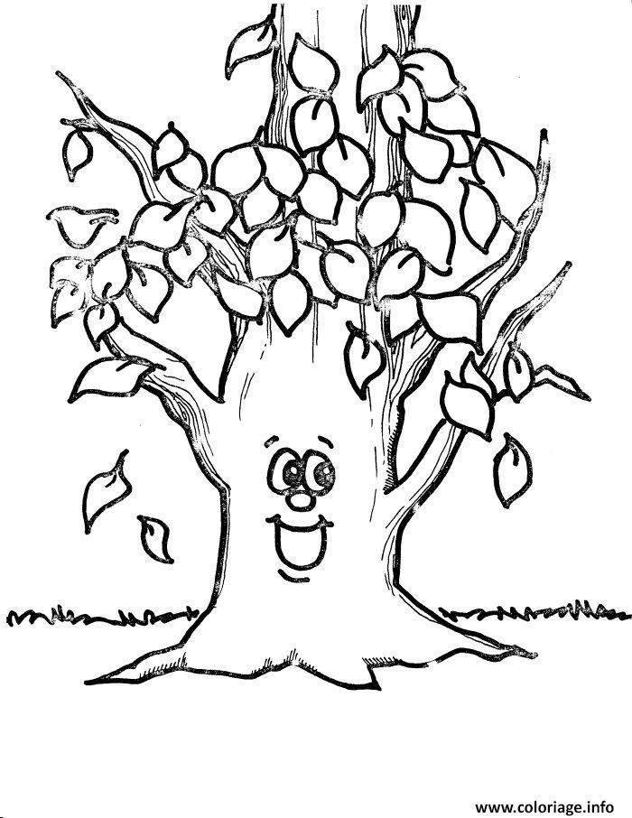 Dessin arbre 178 Coloriage Gratuit à Imprimer