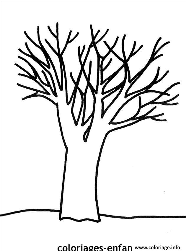Coloriage arbre 24 dessin - Feuille de coloriage gratuit ...