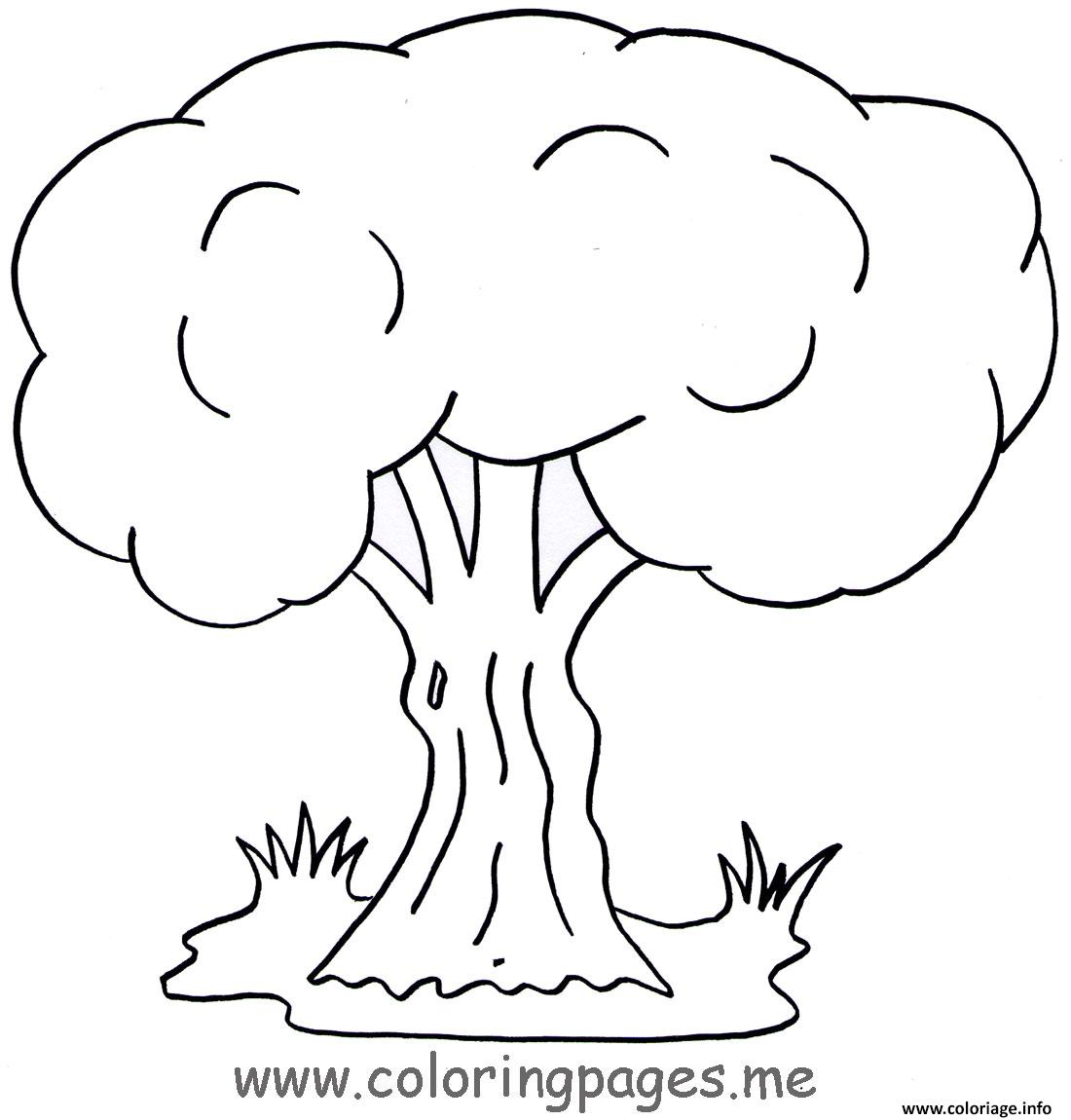coloriage arbre 125 dessin. Black Bedroom Furniture Sets. Home Design Ideas