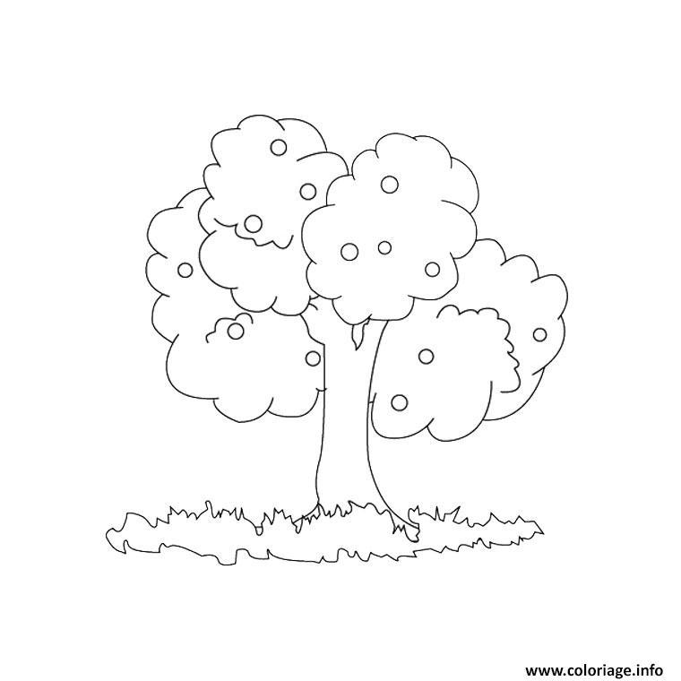 Dessin arbre 172 Coloriage Gratuit à Imprimer