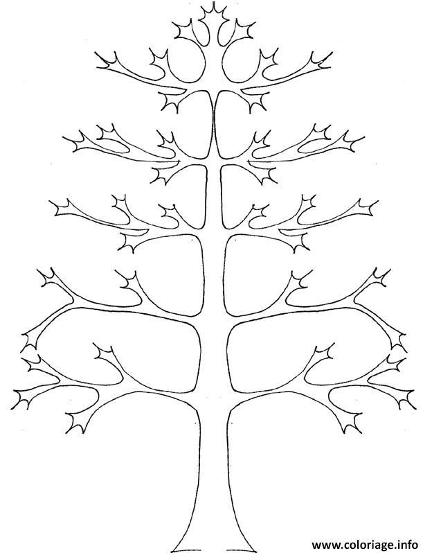 Coloriage arbre 12 dessin - Feuille de coloriage gratuit ...
