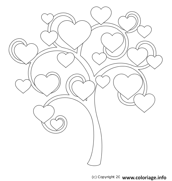Photo Coloriage Arbre.Coloriage Arbre 21 Jecolorie Com