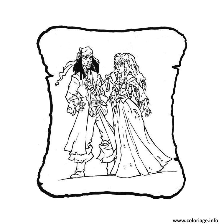 Coloriage famille pirate dessin - Coloriage fille pirate ...