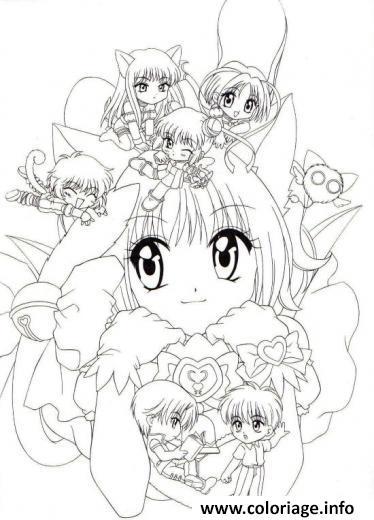 Dessin fairy tail manga 03 Coloriage Gratuit à Imprimer