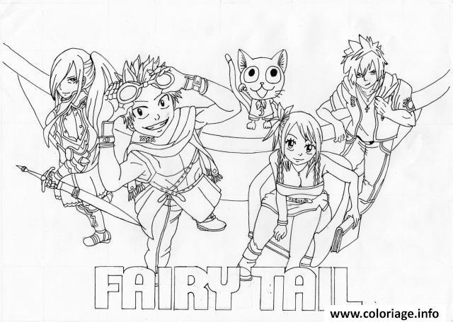 Dessin fairy tail lucy 15019 Coloriage Gratuit à Imprimer