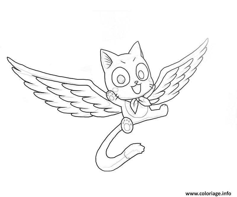 Dessin fairy tail manga 20 Coloriage Gratuit à Imprimer