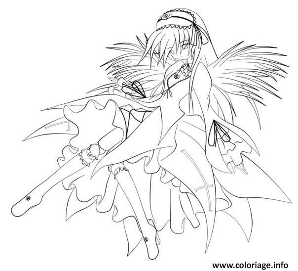 Dessin fairy tail manga 17 Coloriage Gratuit à Imprimer
