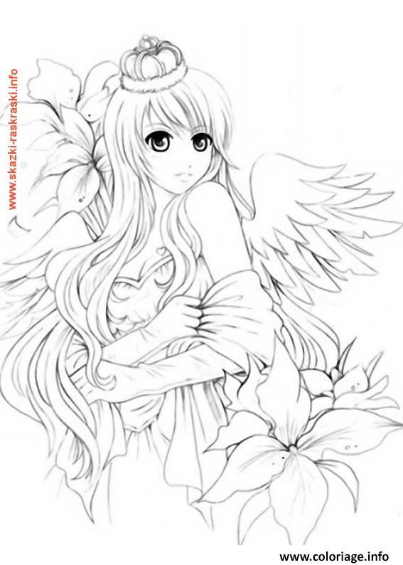 Coloriage Fairy Tail Manga 13 dessin
