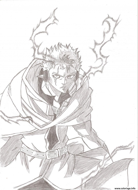 Coloriage Fairy Tail Manga 19 Dessin