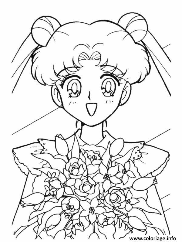 Coloriage Manga 160 dessin