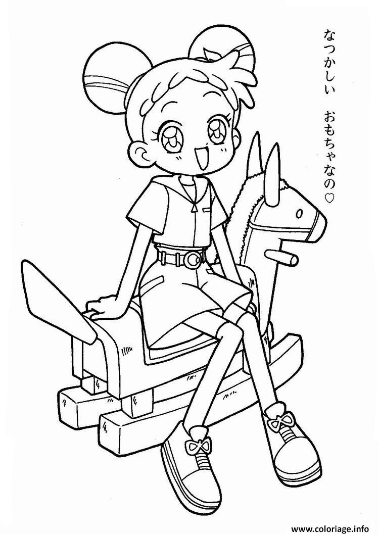 Coloriage Manga 159 dessin