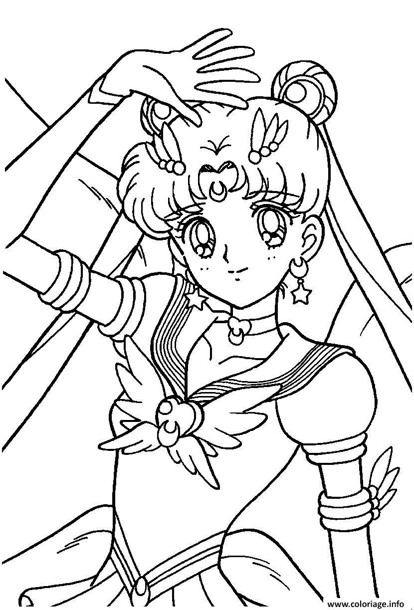 Coloriage fille manga 20 - Image pour fille a imprimer ...