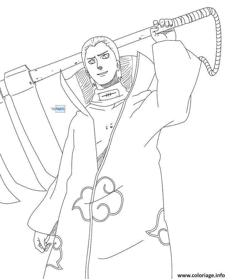 Coloriage manga naruto 113 - Naruto shippuden dessin a colorier ...