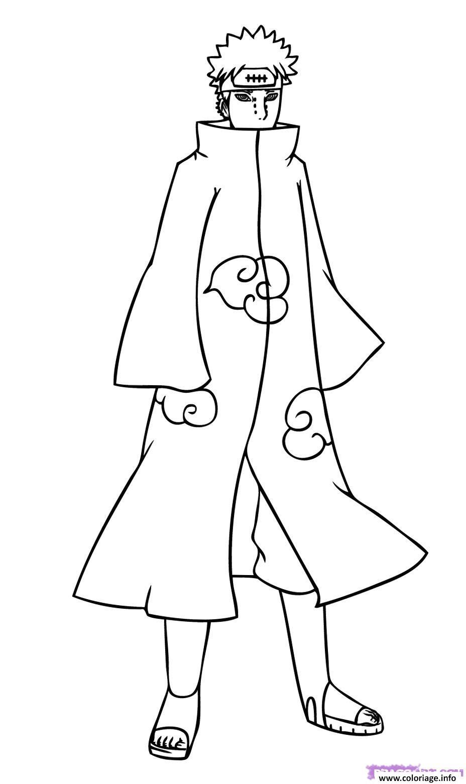 Coloriage manga naruto 163 dessin - Dessin de naruto a colorier ...