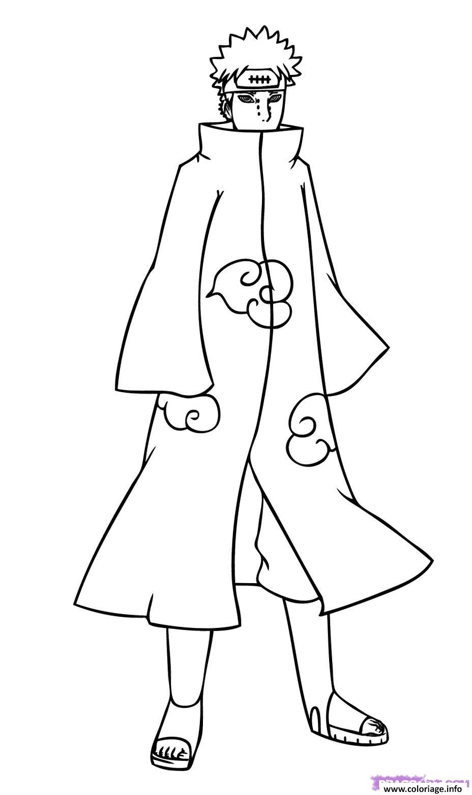 Coloriage manga naruto 163 dessin - Image a colorier naruto ...