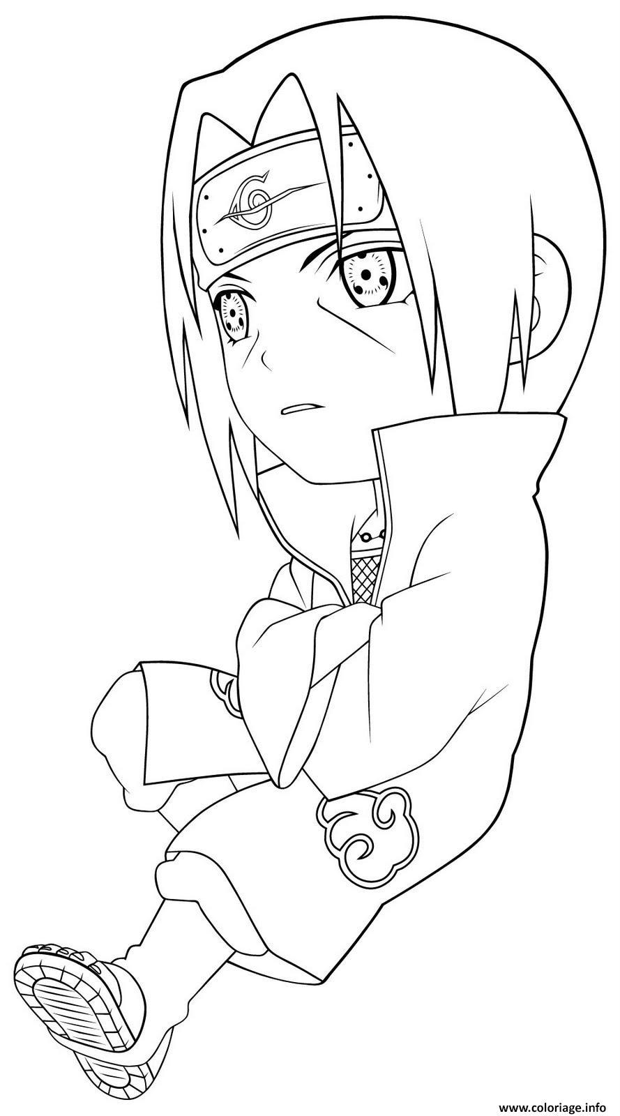 Coloriage manga naruto 34 - Manga dessin a imprimer ...